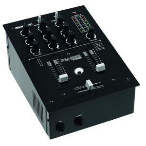 TABLE DE MIXAGE PM-222 Table de mixage 2 canaux DJ Battle