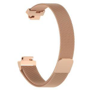 MONTRE Bracelet en acier inoxydable à mailles fines pour