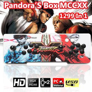 JEU CONSOLE RÉTRO 1299 in 1 Pandora Box 5s Classique 2 Joystick Arca