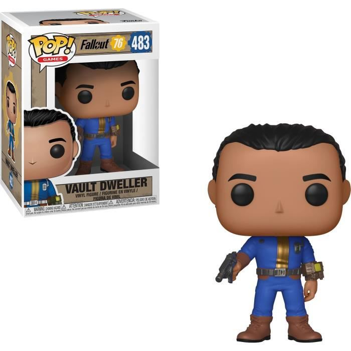 Figurine Funko Pop! Games: Fallout 76 - Vault Dweller (Male)