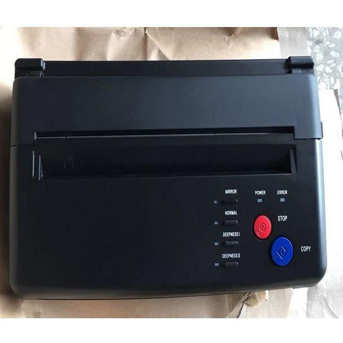 Machine de Transfert de Pochoir Copieur Thermique à Papier de Tatouage
