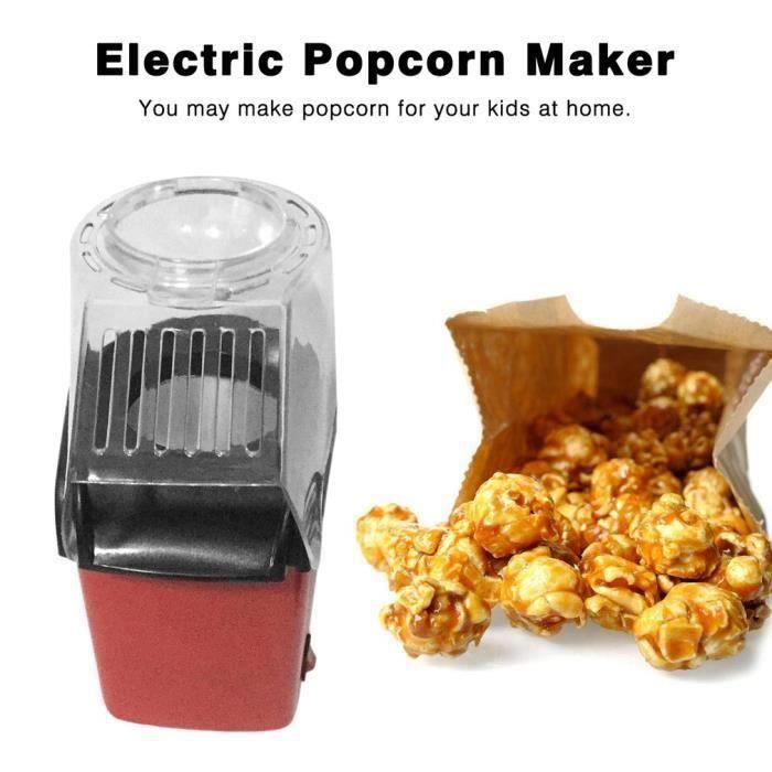 Mini Machine à pop-corn électrique EU plug type de soufflage d'air Dream 2602211