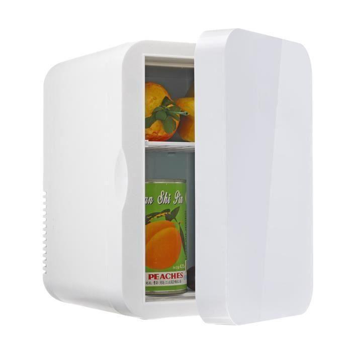 6L Mini Réfrigérateur Chaud Froid Maison Voiture Double Usage PRISE US 220V DC 12V Ve47677