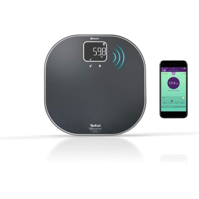 TEFAL - Body Partner Access Connecte - Bluetooth - IMC - Coaching - PP9500S1
