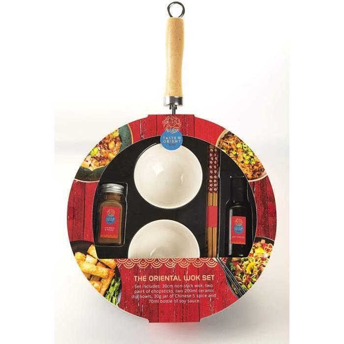 Taste of the Orient - The Oriental Wok Set