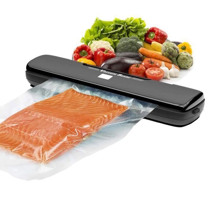 La scelleuse sous vide domestique peut sceller les aliments, économiser de l'espace et garder les aliments au frais huanlemusi 141