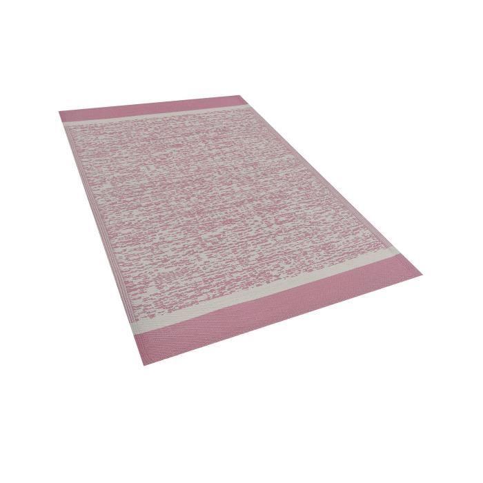 Beliani - Tapis extérieur rose 120 x 180 cm BALLARI