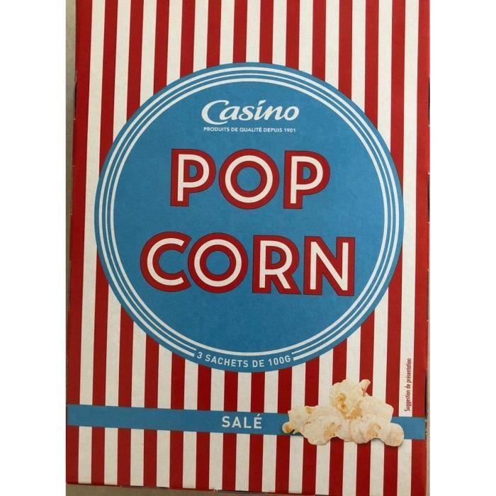 MENGUY'S Pop Corn Micro-Ondes salé - 300 g