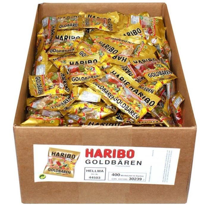 Haribo GOLDBÄREN Mini sacs, 400 sac
