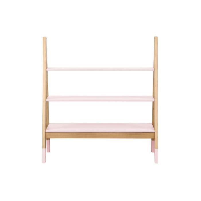Miliboo - Étagère enfant design en pin rose