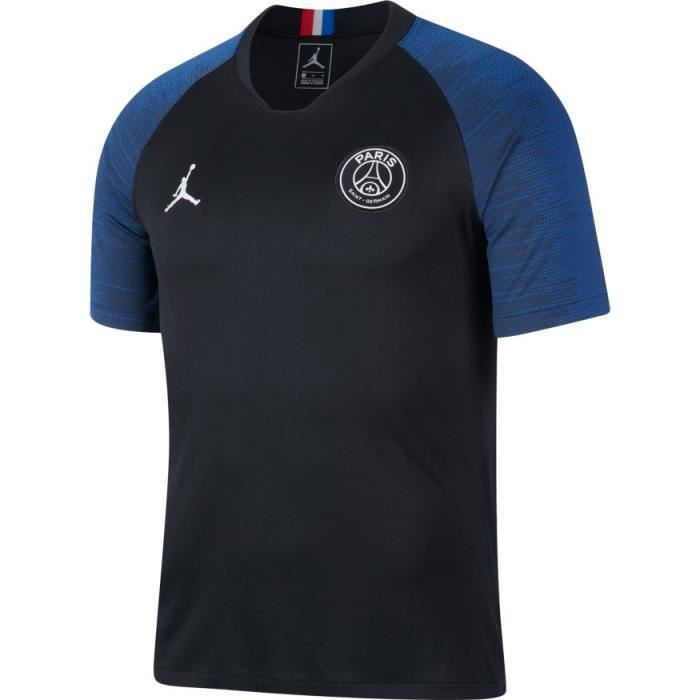 MAILLOT NEWS PSG PARIS JORDAN TOP NOIR ADULTE 2020 psg