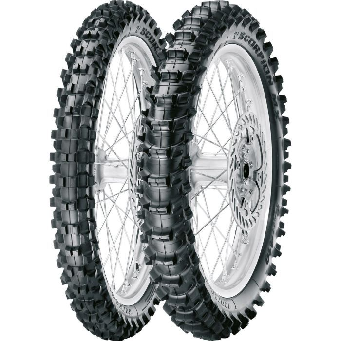 PIRELLI 2.50/10 33J MX MidSoft 32 F Pneu Moto Cross