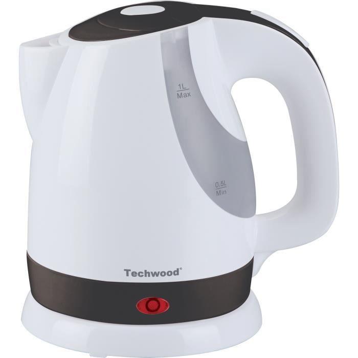 TECHWOOD TB1012 Bouilloire électrique - Blanc