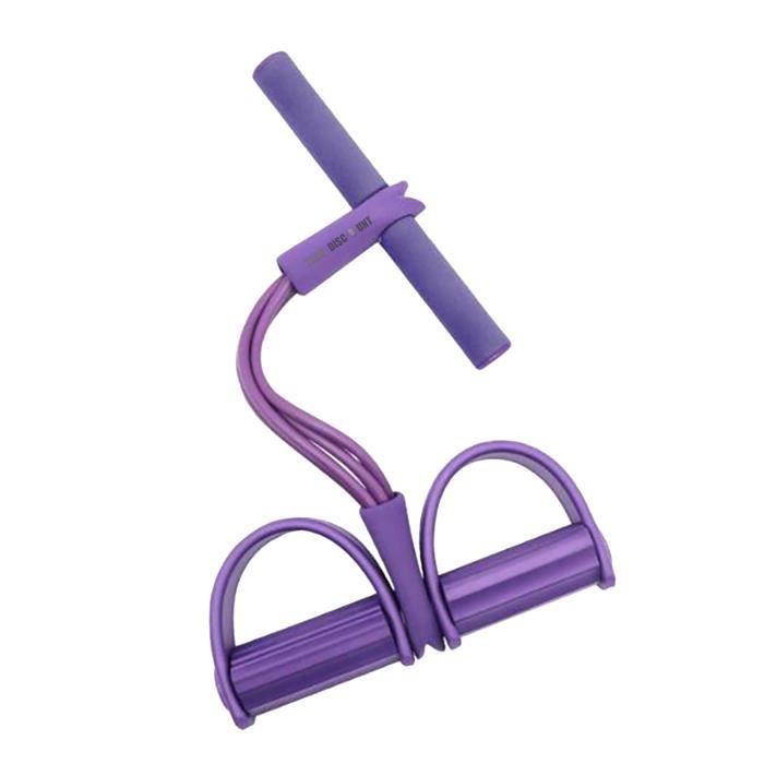 TD® Multi-fonction tension corde pédale corde élastique tendeur de jambe crunchs abdominaux équipement de fitness abdominal