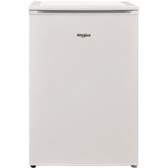 WHIRLPOOL - W55VM1110W1 - Réfrigérateur Table top - 121L (104L + 17L) - Froid statique - L54cm x H83,8cm - Blanc