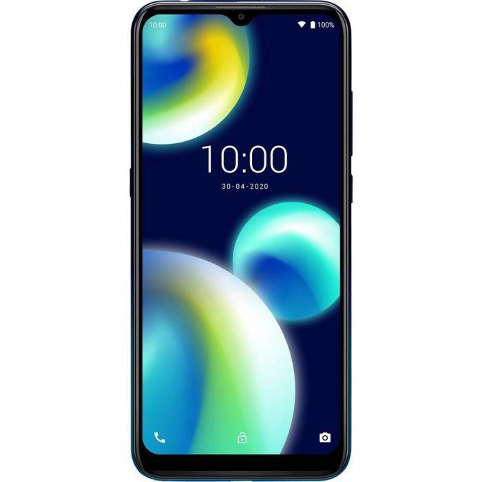 Smartphone double SIM 4G WIKO VIEW4 LITE WIKVIEW4LITEDEBST 32 Go 6.52 pouces (16.6 cm) double SIM Android™ 10 13 Mill. p