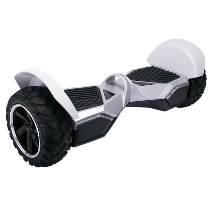 hoverboard tout terrain hummer blanc achat vente hoverboard hoverboard tout terrain hum. Black Bedroom Furniture Sets. Home Design Ideas