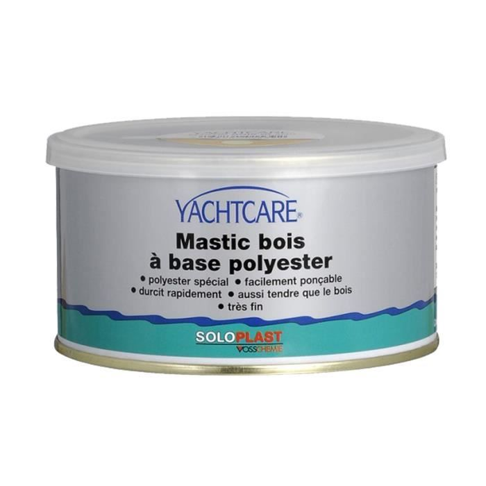 mastic polyester yachtcare bois blanc 295ml achat vente colle pate fixation cdiscount. Black Bedroom Furniture Sets. Home Design Ideas