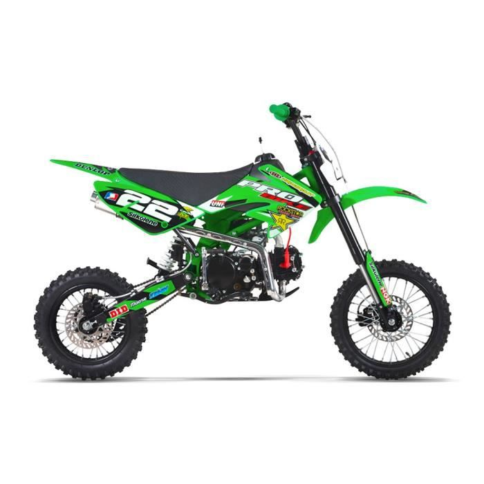 moto dirt bike 150 pit bike probike 150 s vert 2017. Black Bedroom Furniture Sets. Home Design Ideas