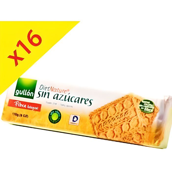 16 paquets de biscuits sans sucre nature fibre diet for Chambre de sucre coupon code