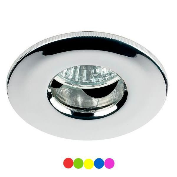 Spot encastrable led 4w ip65 gu10 230v rgb couleur achat for Spot salle de bain ip65
