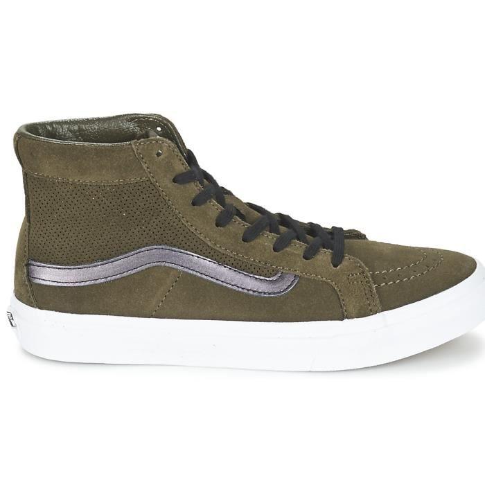 chaussures vans kaki