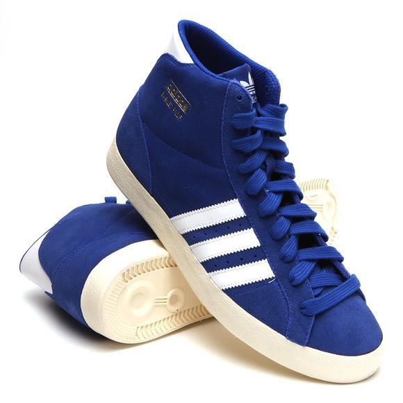 huge selection of 0daeb 48ef2 BASKET Baskets Adidas PROFI Montantes, Modèle Q23334 Bleu