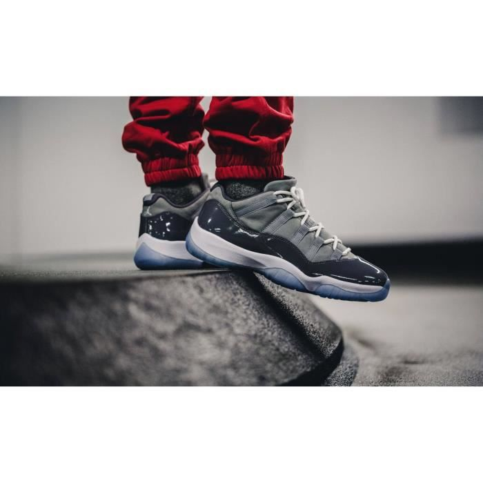 "BASKET Nike Air Jordan XI Retro Low ""Cool Grey"""