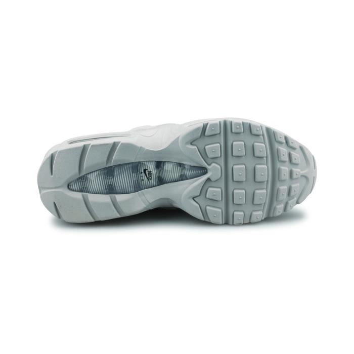 wholesale dealer 0a6e8 674d1 Basket Nike Air Max 95 Essential Platine Pur 749766-036