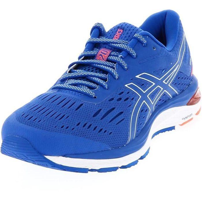Chaussures running Cumulus 20 gel blue run - Asics