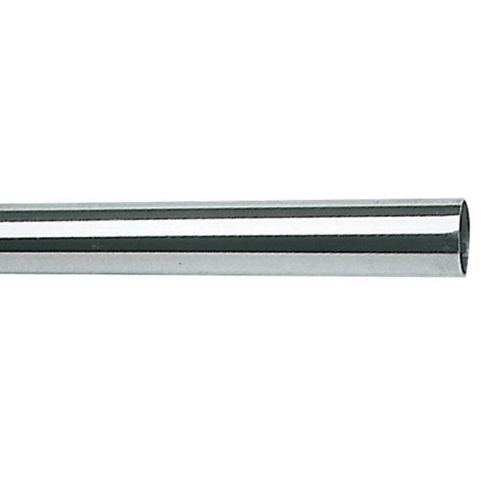 Tube inox 38mm x 1,5mm x 1 mètre Poli Miroir 316 L