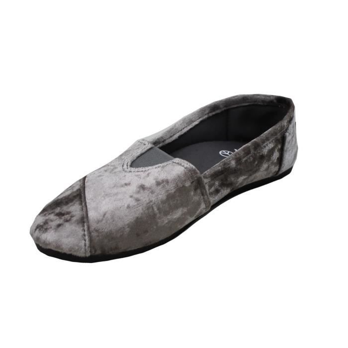 Classic Slip On Mocassins Velvet Shoe Slipper XI978 Taille-38 UG5bUhd