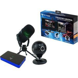 PACK ACCESSOIRE Pack d'accessoires de streaming gamers et youtuber