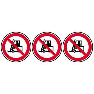 Autocollant Stickers Interdit de Boire Diam/ètre 10x10cm