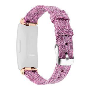 BRACELET DE MONTRE Remplacement tissé en toile Fabric Watch Band Brac