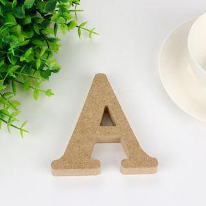 OBJET DÉCORATIF Bois en bois A - & - Z Lettres Rouge Alphabet De M