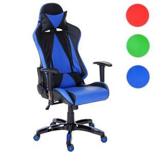 CHAISE DE BUREAU Chaise fauteuil de bureau Loksa T682 XXL, chaise p