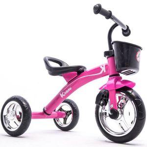 DRAISIENNE Kiddo Trike Rose 3 Roues Smart Design Enfants Tric