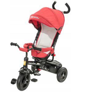 DRAISIENNE Kidz Motion Poussette Tricycle Pour Enfants Avec H