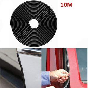 10 M/ètre Bande Joint Voiture,B forme auto adh/ésif caoutchouc bande de joint de porti/ère de voiture,pour Voiture La Fen/être Protecteur Insonorisation adapt/é pour la plupart des voitures