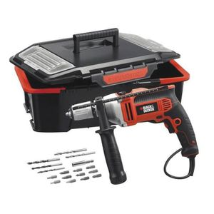 perceuse a percussion black et decker 910w