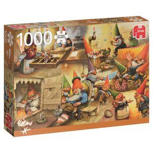 CASSE-TÊTE Jumbo Puzzle Collection Premium »à la maison avec