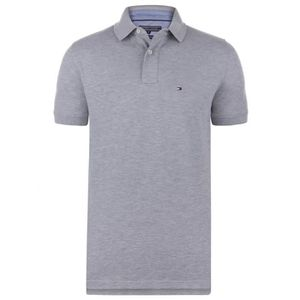 POLO Tommy Hilfiger Homme Polo Gris Basic Logo