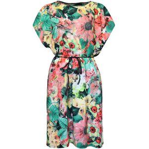 ROBE Coton été Femmes Vintage, Robe africaine, Fleur Tu