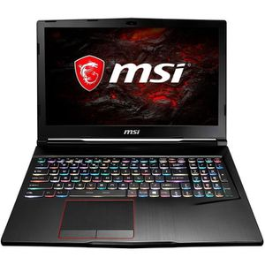 ORDINATEUR PORTABLE PC portable MSI GE63VR 7RF-011XFR Raider 15.6' LED