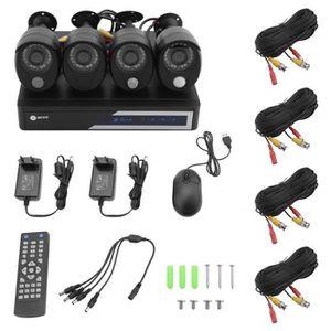 CAMÉRA DE SURVEILLANCE Anni Home Kit de vidéosurveillance intégrale pour