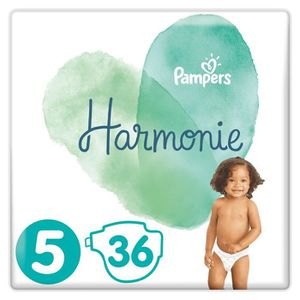 COUCHE PAMPERS Harmonie Taille5, 11 kg+, 36Couches