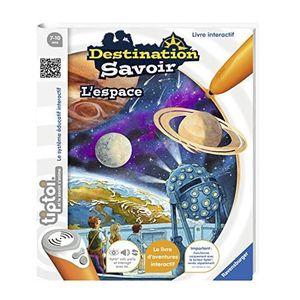 JEU SOCIÉTÉ - PLATEAU Ravensburger - 00679 - Livre Tiptoi l'espace 00679