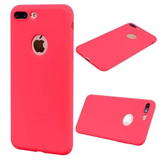 coque iphone 5s plastique souple rouge 2 33x
