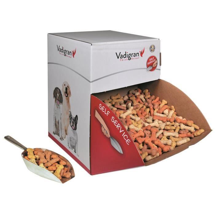 VADIGRAN Biscuits Bones Mix - 10 kg - Pour chiens